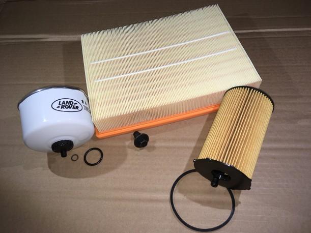 Kit Filtration TDV6 2.7 DISCO lll et RANGE SPORT