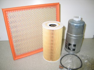 Kit Filtration RANGE P38 2.5 DT